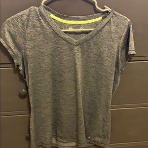 athletic v neck shirt